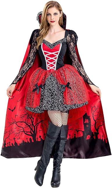Disfraces Carnaval Mujer Vestido Halloween Bruja Vampiresa ...