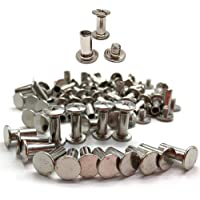 Xinlie 50 PCS Tornillo clavos remaches Clavos Remaches