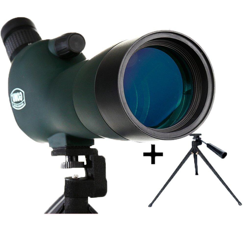 最安値に挑戦! Peaceip 20-60X 大人用 大型接眼レンズ スポッティングスコープ ipx7 防水 バードウォッチング 単眼鏡 望遠鏡 風景レンズ 三脚付き 45度視野角 (カラー : スコープ + デスクトップ三脚)   B07KZKQH4K, 昭和のレトロ金物屋 関口国吉商店 7545f2ce