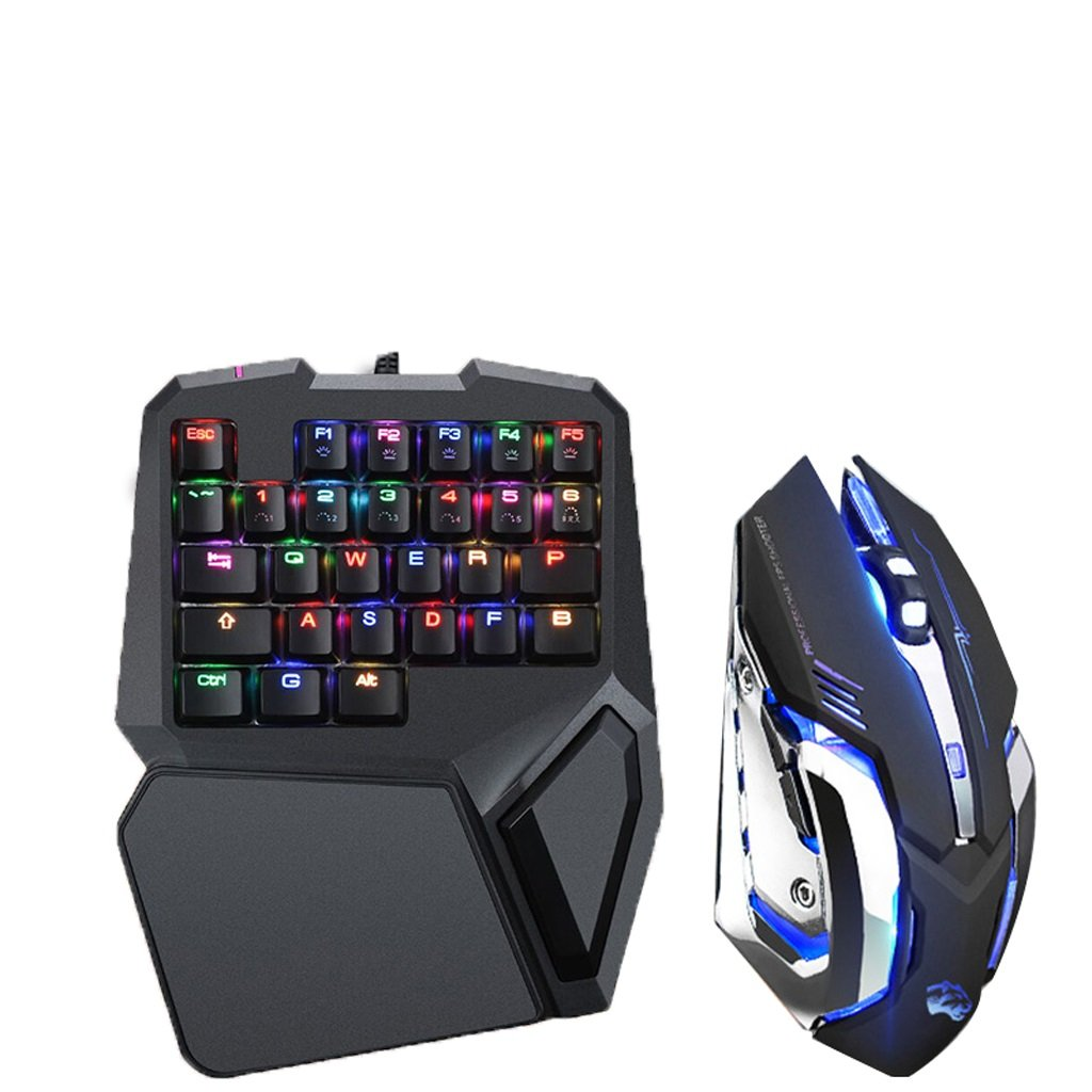 片手KeyboardGamingキーボード mouse)、RGB B07FZ1NWLM LEDバックリストPCゲーマー&タイピング用のリムーバブルハンドレスト付メカニカルキーボード (Color : Silent mouse) : B07FZ1NWLM, パワーゴルフ(PowerGolf):b4491c4f --- b-band.club