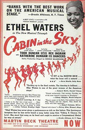 Cabin In The Sky (Broadway) - Movie Poster - Cabin In The Sky Dvd