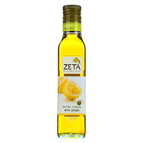 Extra Virgin Olive Oil Lemon 8.45 Ounces Case of 6