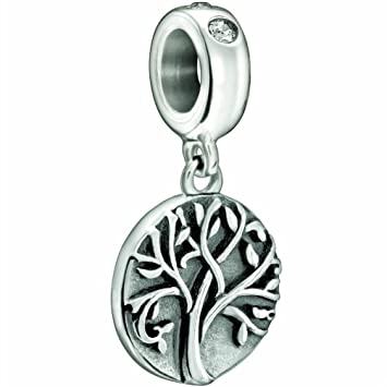 22102937a Family Tree of Life Charm 925 Sterling Silver Bead Fits Pandora Bracelet  Charms