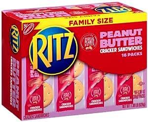 Amazon.com: Nabisco, Ritz, Cracker Sandwiches with Peanut