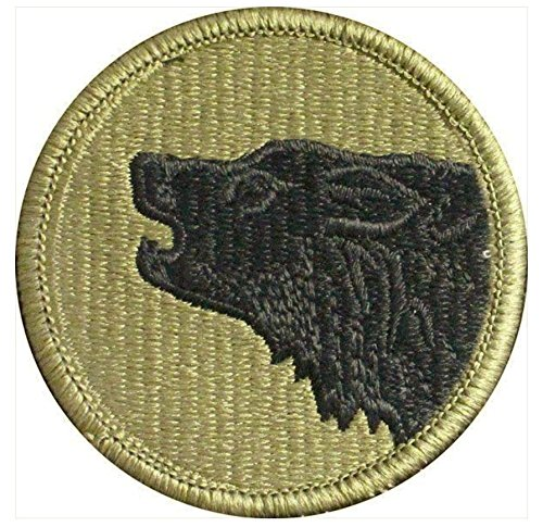 Vanguard ARMY PATCH: 104TH TRAINING DIVISION - EMBROIDERED ON OCP