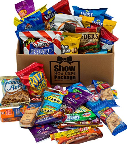 Show You Care Packages Snack Packages With Snacks For College Care Packages And Thank You Care Package
