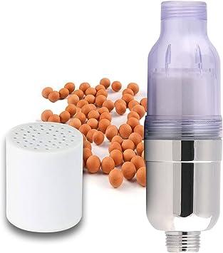 Ekoly - Filtro de Ducha universal, purificador mineral de impurezas para mejorar la calidad del agua y cuidado de la piel: Amazon.es: Bricolaje y herramientas