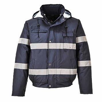 Portwest S434 - Iona Lite chaqueta de bombardero, color Armada, talla 3 XL