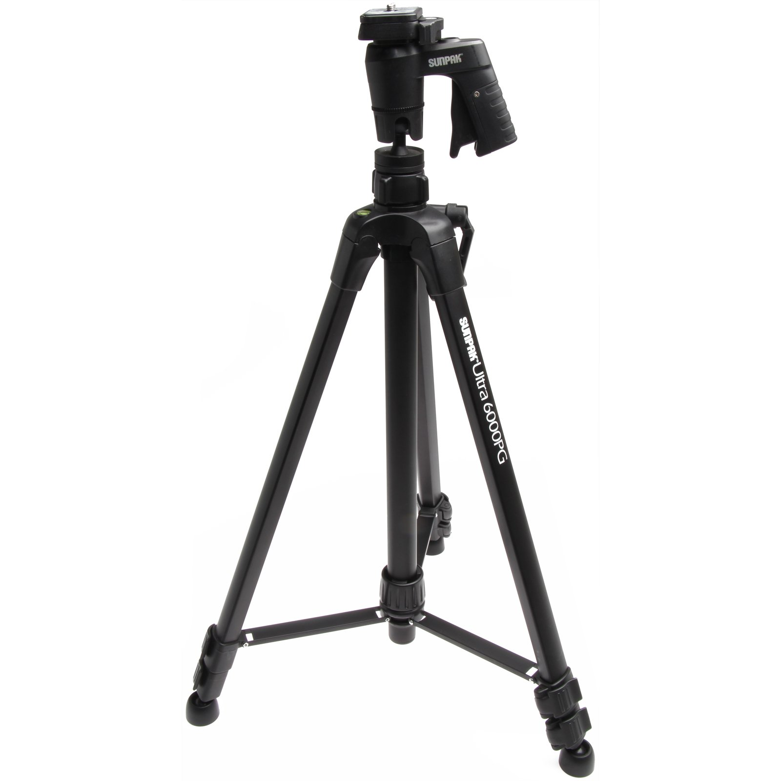 Sunpak 61'' Ultra 6000PG PlatinumPlus Tripod with Pistol Grip Ball Head