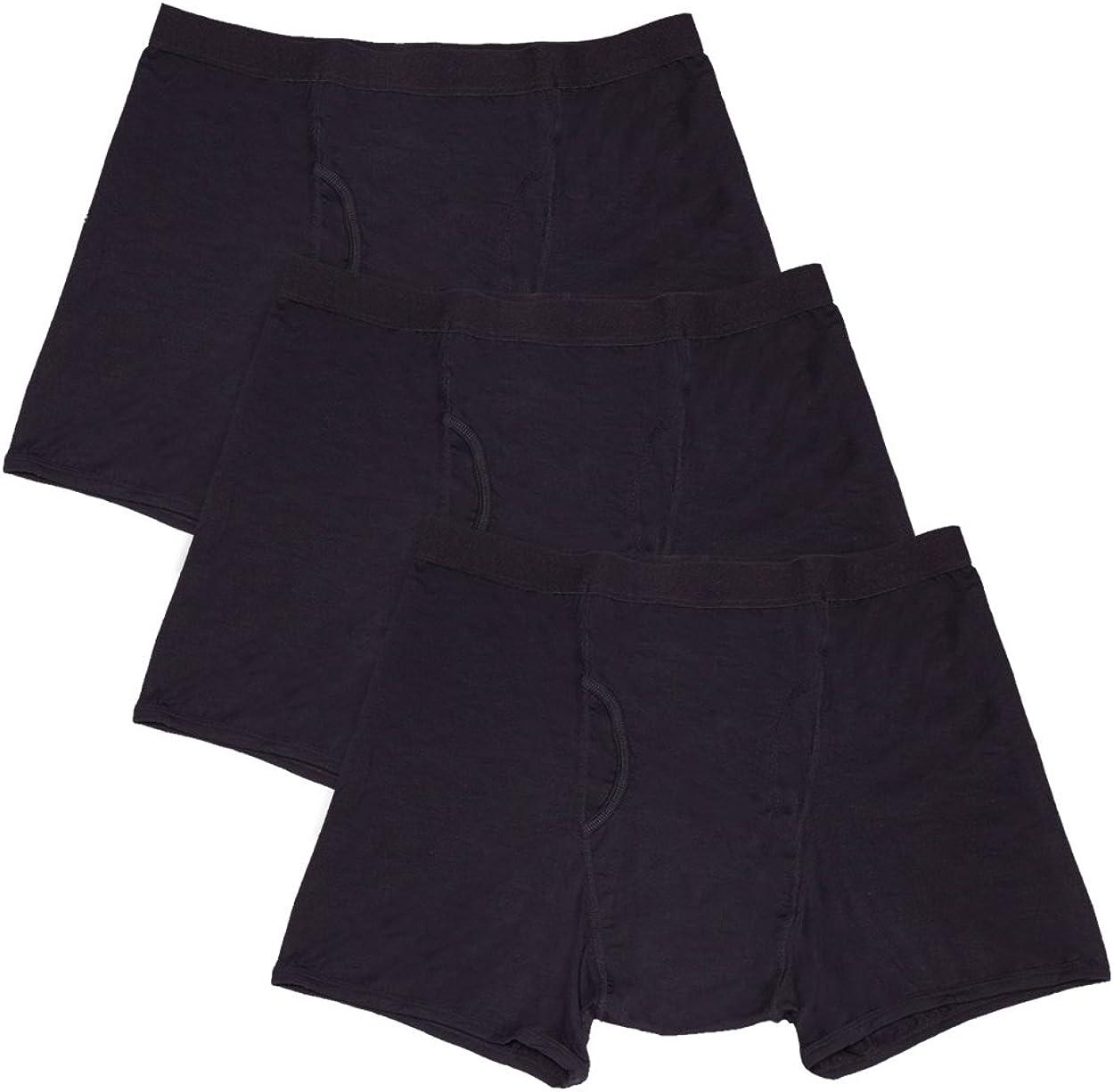 iHeartRaves Hide Your Stash Boxer Briefs, Men's Hidden Pocket Underwear