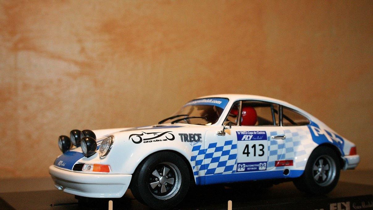 Barato Fly - Scalextric slot 96080 porsche 911 s iv trece copa de clásicos e-903