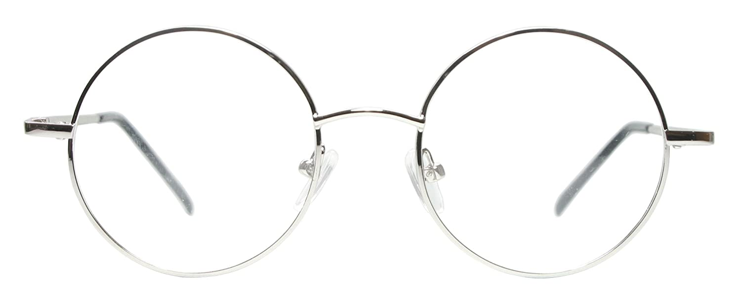 steve jobs glasses Amazon.com: Full rim metal round eyeglasses frame ( Mid Size): Clothing