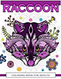 Raccoon Coloring Book for Adults: Raccoon Doodle, Realistic, Relaxing Patterns