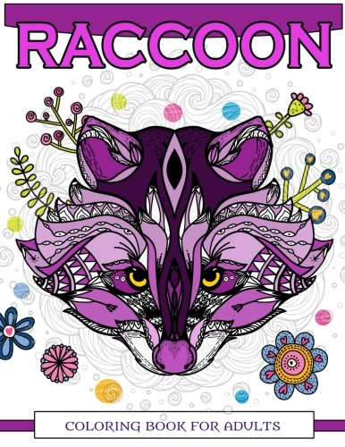 Raccoon Coloring Book for Adults: Raccoon Doodle, Realistic, for sale  Delivered anywhere in USA