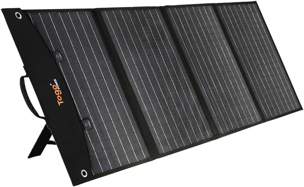 TogoPower 120W Portable Foldable Solar Panel Charger for Baldr/Jackery/GoalZero/Paxcess Power Station Generator with Dual USB Ports & 18V DC Output for RV Boat Laptop Tablet iPhone iPad Camera Lamp : Garden & Outdoor