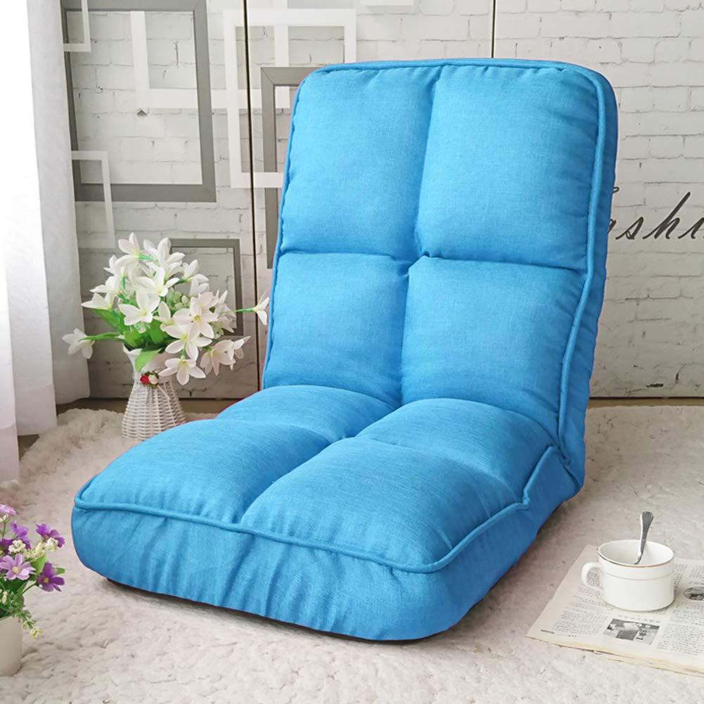 F 108x45x17cm(43x18x7inch) Lazy Tatami Small Sofa,Single Casual Foldable Bed Dormitory Computer Bedroom Balcony Bay Window Chair-A 108x45x17cm(43x18x7inch)