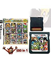 $30 » 500 in 1 Game Cartridge, DS Game Pack Card Compilations, Super Combo Multicart for Nintendo DS, NDSL, NDSi, NDSi LL/XL, 3DS, 3DSLL/XL, New 3DS, New 3DS LL/XL, 2DS, New 2DS LL/XL