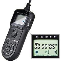 JJC RM-SPR1 Timer Remote Control Shutter Release for Sony A7RIV A7III A6100 A6600 A6400 A6300 A6500 A7II A7RIII A7RII A7SII RX100 VII VI VA V IV III II RX10III RX10II A9II A9 A58 Cameras