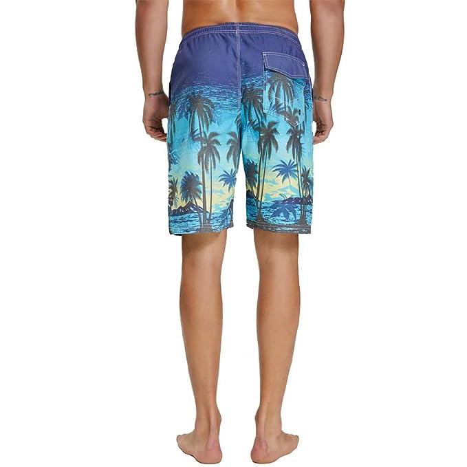 920c9766271 nuosife Swim Trunks for Men Bathing Suit Swimwear Shorts Quick Dry  Lightweight | Amazon.com