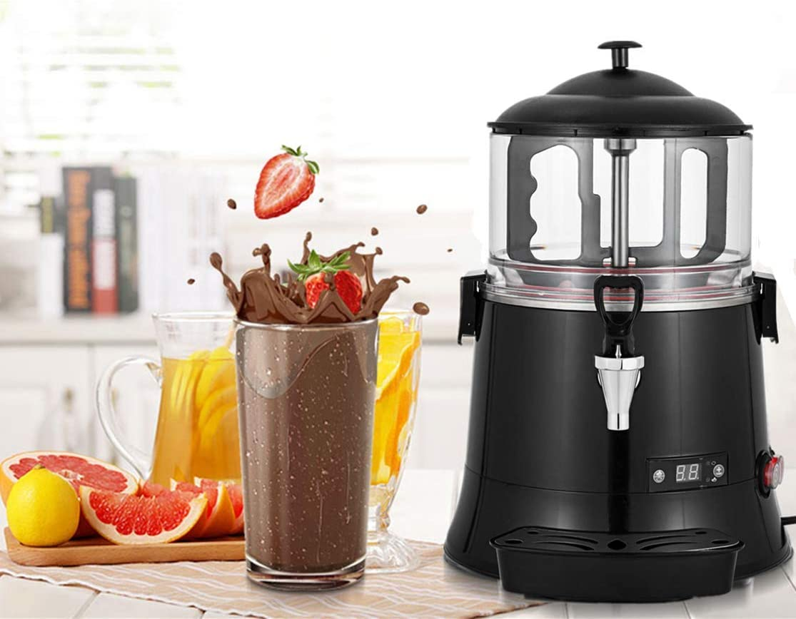 YUCHENGTECH 5L Commercial Hot Chocolate Maker Upgrade Machine Hot ChocolateDispenserWarmer for heating Chocolate Coffee Milktea CE Certification 100-120V (5L)