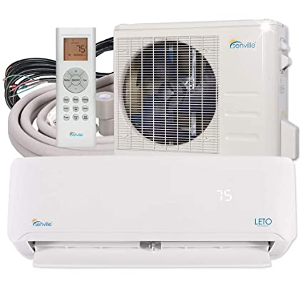 54259f79486 Senville SENL-24CD 22000 BTU Mini Split Air Conditioner Ductless Heat Pump