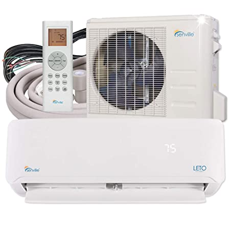 Senville SENL-24CD Mini Split Air Conditioner Heat Pump 24000 BTU 17 SEER