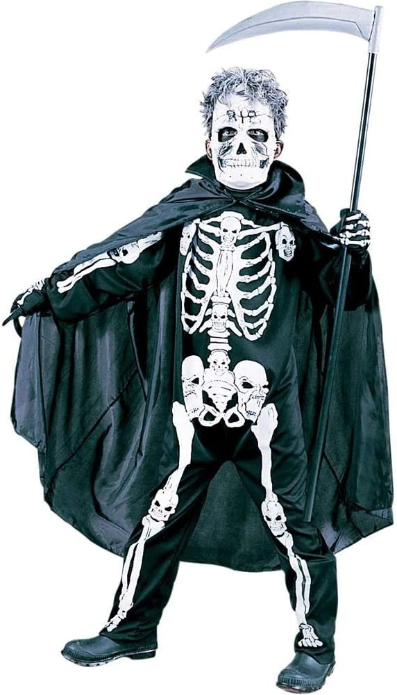 Halloween Kostuem Skelett Amazon.Kinder Gruselig Skelett Halloween Kostum Amazon De Spielzeug