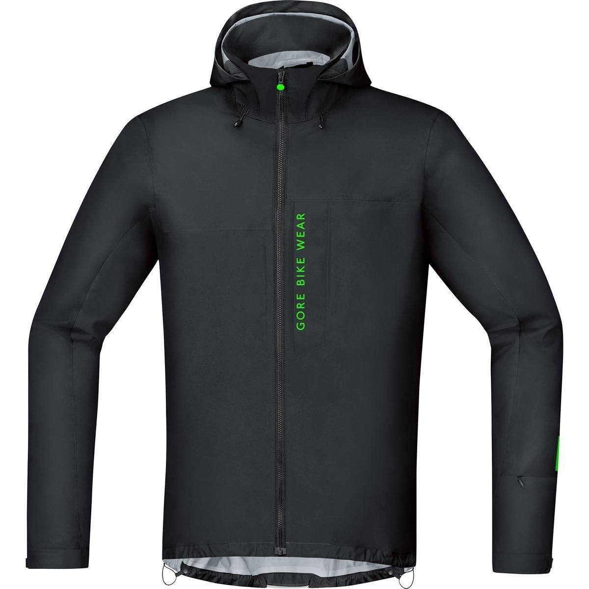 GORE BIKE WEAR Chaqueta MTB para Hombre, GORE-TEX Active, POWER TRAIL GT AS Jacket, Talla M, Negro, JGPOWM990004: Amazon.es: Deportes y aire libre