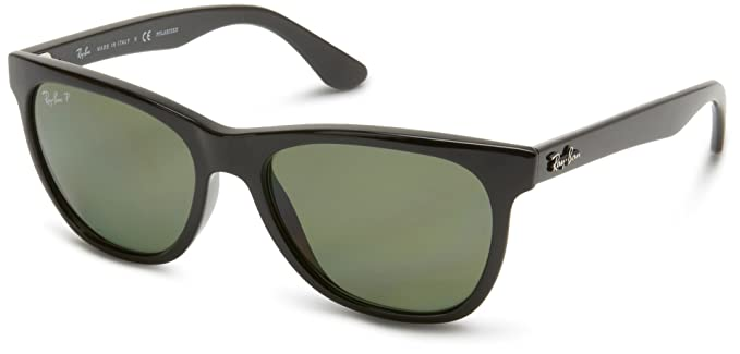 78b1151821 Ray-Ban Sonnenbrille Highstreet RB 4184 601 9A schwarz  Amazon.de ...