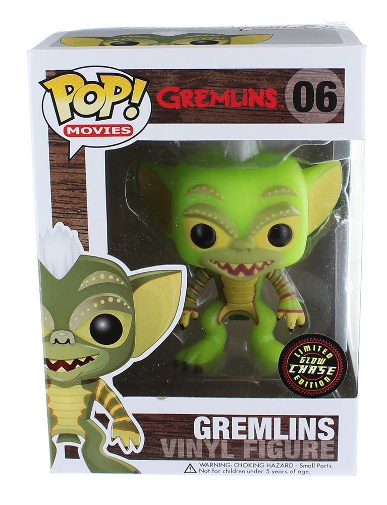 Gremlins Funko Pop Stripe Glow-in-the-Dark Chase 3.75 Vinyl Figure by FunKo