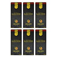 6 Boxes Organo Gold Gourmet Cafe Noir, Black Coffee 100% Certified Ganoderma Extract...
