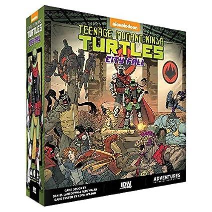 Amazon.com: Teenage Mutant Ninja Turtles: City Fall: Toys ...