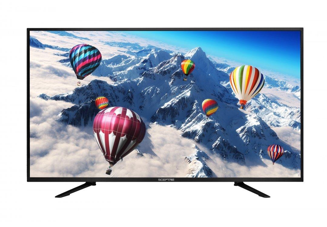 Sceptre U550CV-UMR 55-Inch 4K Ultra HD MEMC 120 LED UTV 3840 x 2160 - Black by Sceptre
