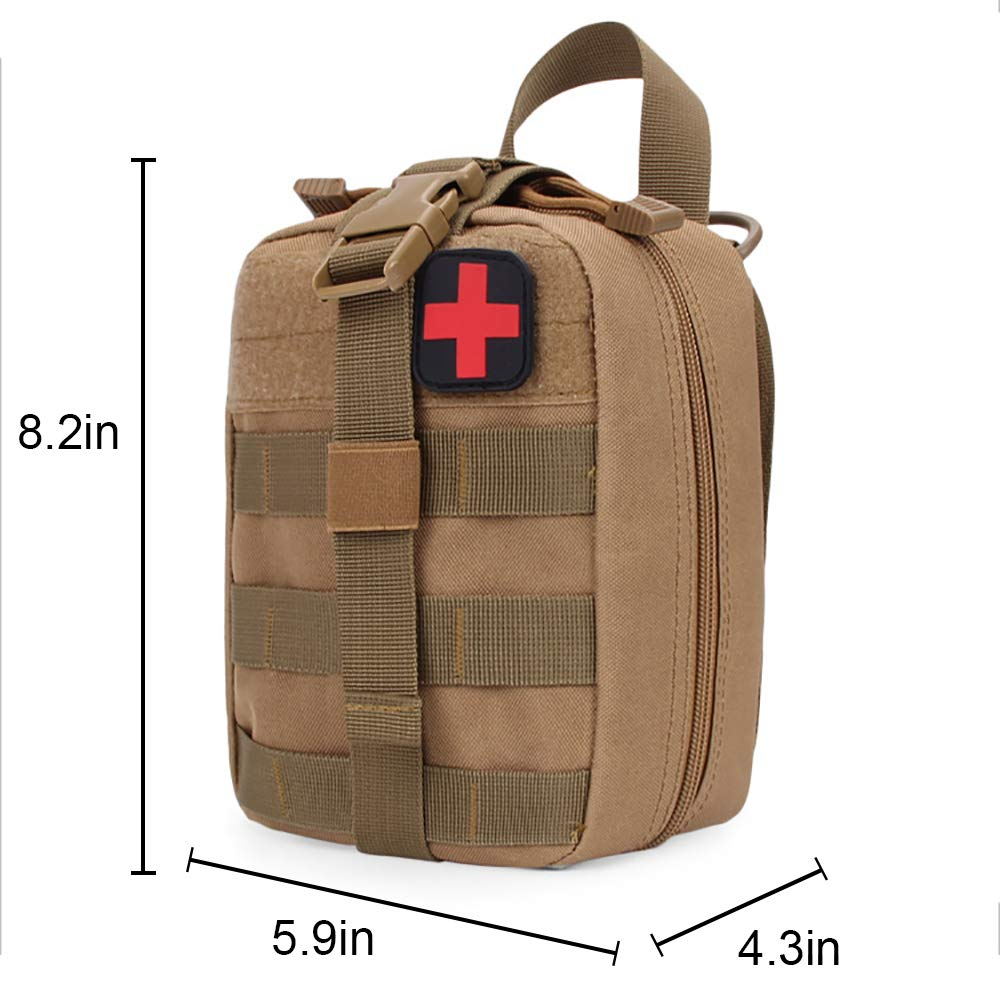 Amazon com : Hothuimin Durable MOLLE Medical Pouch