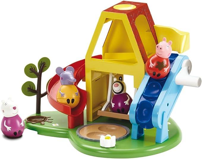Peppa Pig - Casa de Juegos (Bandai 84336): Amazon.es: Juguetes y juegos