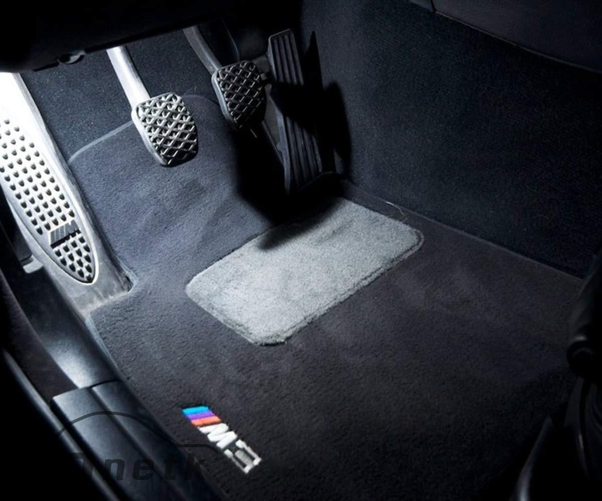 ONETK Master LED Interior Lighting Kit for BMW E46 Coupe,White,w//Free Trim Removal Tool