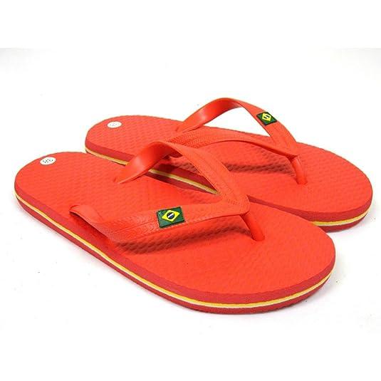 La Valenciana, Ciabatte da Spiaggia Donna Rosso Size: 32