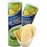 过山车芥末味薯片(膨化食品)160g*2(马来西亚进口)