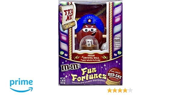 Amazon.com: M&Ms Fun Fortunes Candy Dispenser/2008 by Mars Incoporation: Toys & Games
