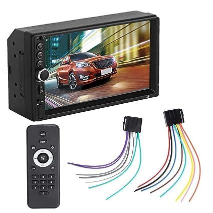 Suuonee Car Player, X6 7 pulgadas Reproductor de alta definición ...