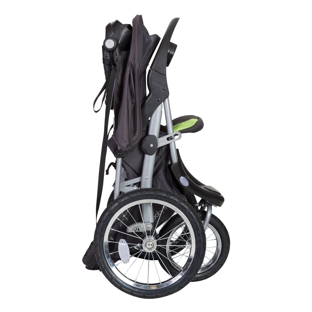Baby Trend Expedition GLX Jogger Travel System, Flex Loc 32lb Car Seat, Peridot by Baby Trend (Image #5)