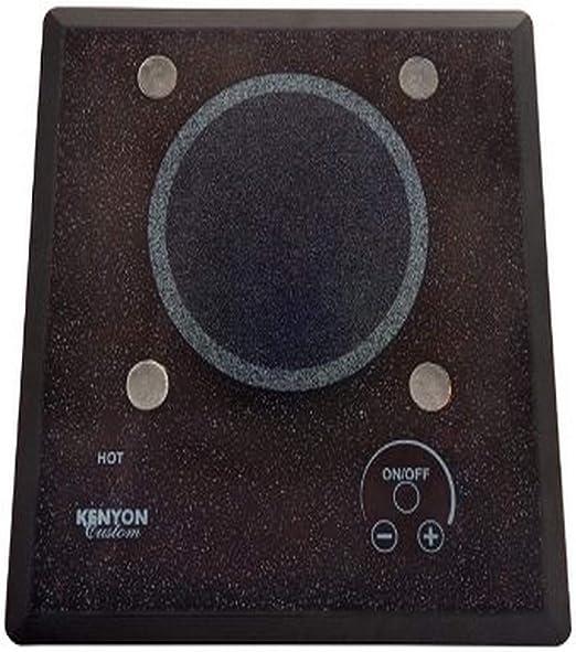 120-volt Black Kenyon B40517PUPS 6-1//2-Inch Mediterranean 1-Burner Cooktop with PUPS and Analog Control