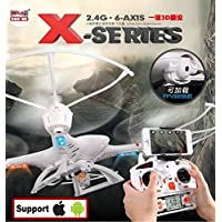 MJX WiFi X400 Original 2.4G 4CH 6-Axis Remote Control RC Helicopter Quadcopter Toys Drone With Camera C4005 Can See Live Video