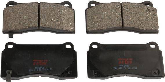 Disc Brake Pad Set-Premium Disc Brake Pad Front TRW TPC0915A
