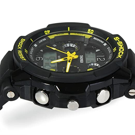 Amazon.com: Relojes de Hombre Sport LED Digital Military Water Resistant Digital Men Watch RE0023: Watches