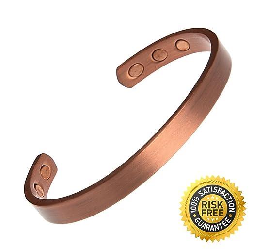 超级神奇的99.9%青铜磁性止痛手环$14.97