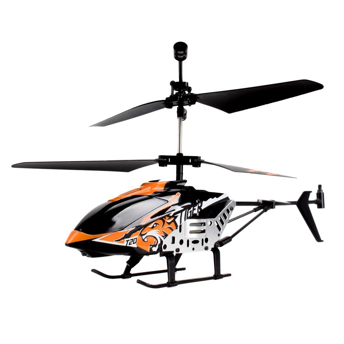 World Brands- Heli Tiger, Juguete, teledirigidos, radiocontrol, Aviones a Control Remoto, helicopteros RC, 33.0 x 33.0 x 9.9 (80285)