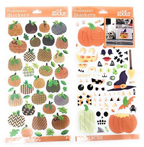 Halloween Sticker Bundle: 2 Sticker Sheets (123 Stickers) ()