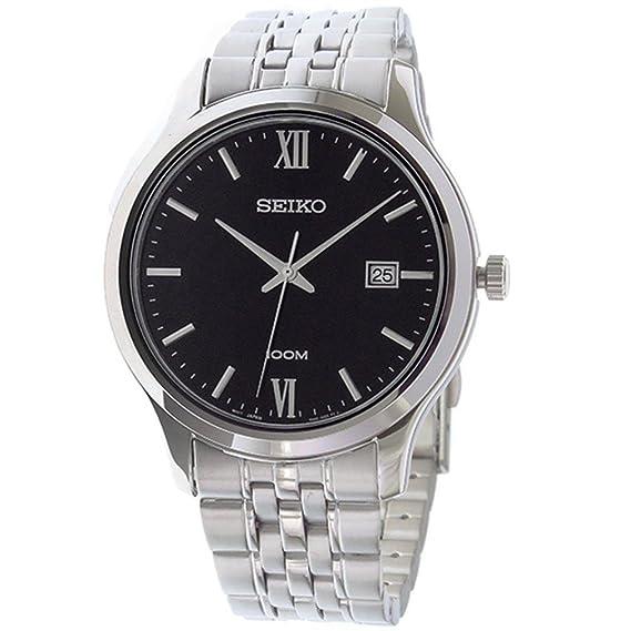 Seiko Hombres de Valor Especial Reloj de Pulsera de Acero Inoxidable sur221