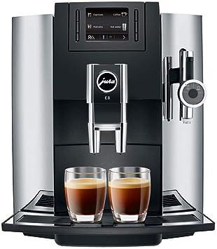 Amazon.com: Jura E8 Cafetera automática, de cromo ...